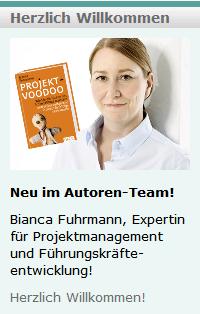 Seit Januar 2014 verstärkt Bianca Fuhrmann das Autoren-Team von Business-Netz.com