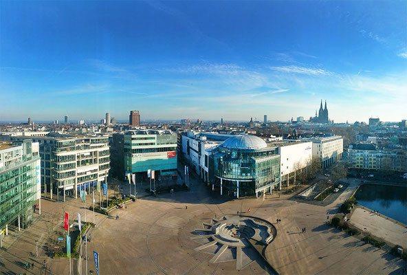 Köln Panorma mit Domblick, (c) Bianca Fuhrmann