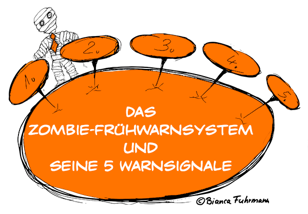 Frühwarnsystem -  Die lange Business-Zombie-Woche 2014 – © Bianca Fuhrmann, Projekt-Voodoo ®, #BusinessZombie