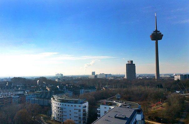 Köln Panorama mit  Funkturm, (c) Bianca Fuhrmann