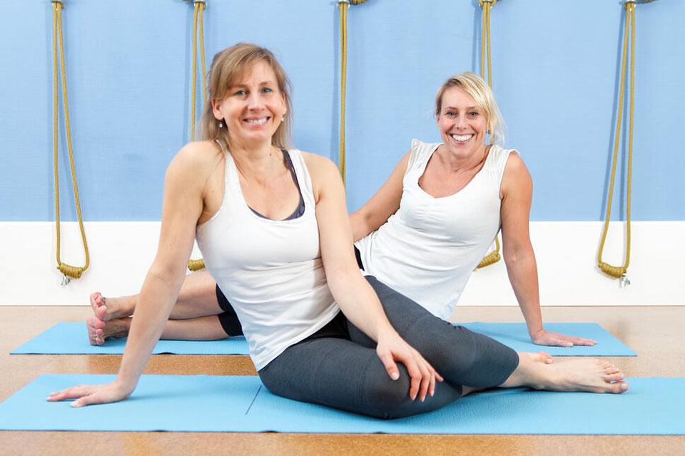 Martina Helken-Dieth, zertifizierte Iyengar Yoga Lehrerin