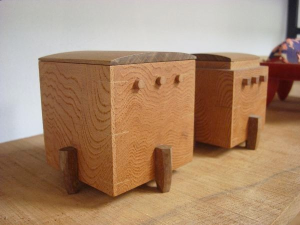 小間さんが作ると小箱もこうなる。