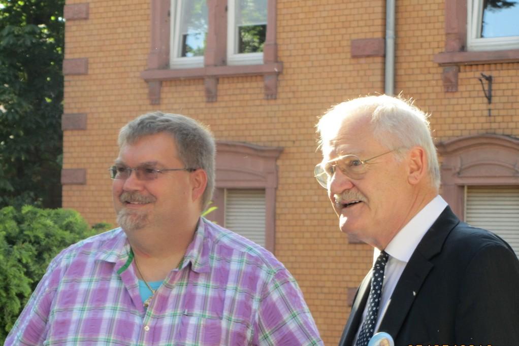 Egon Jüttner und Jürgen Klopsch