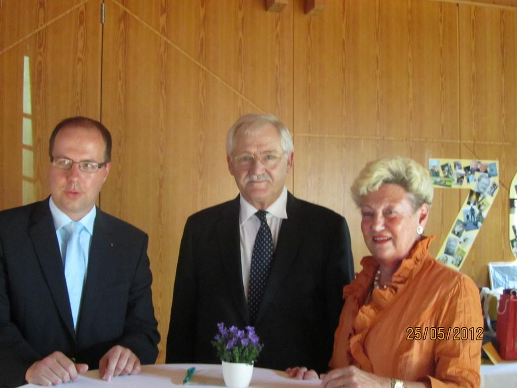 mit Alexander und Gabriele Fleck