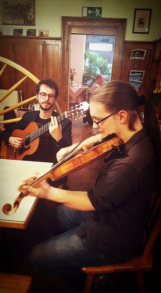 Jubiläumsfeier mit dem David Stellner Duo