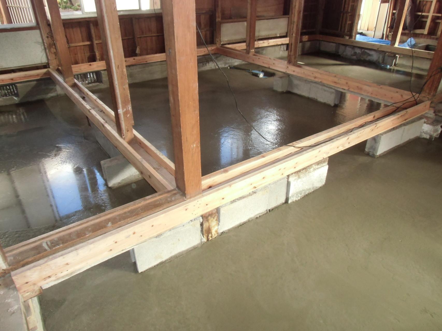 防湿コンクリート