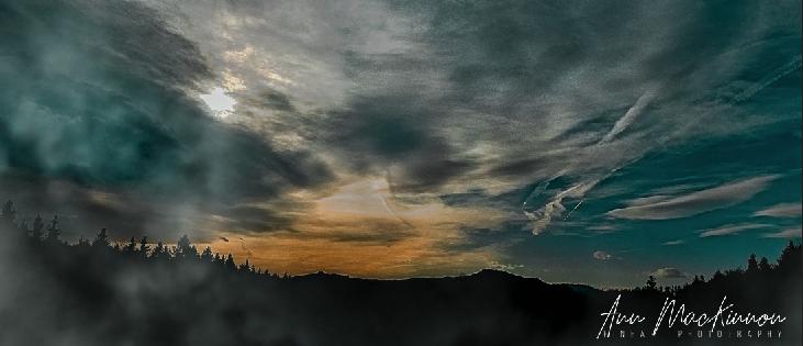 Bodensee von der Sonnenterrasse Scheidegg fotografiert