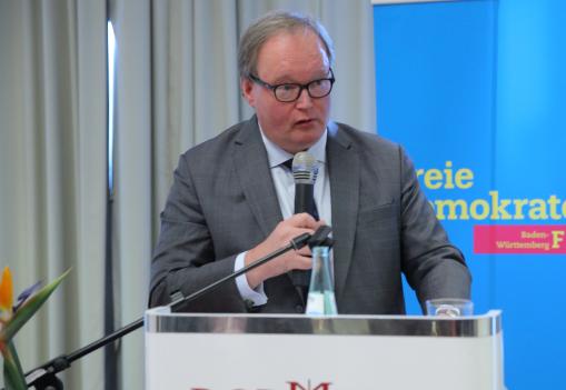 Hans van Baalen MdEP, Präsident der ALDE Partei