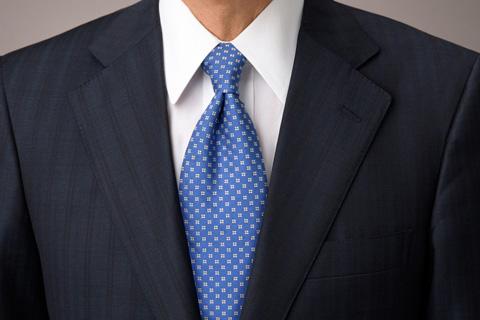 ネクタイ修正後写真