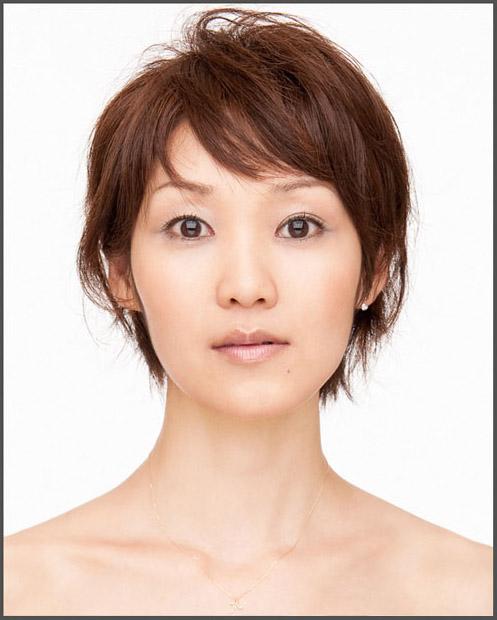 ビジネスポートレイト 宣材写真のヘアメイクについてサンプル写真