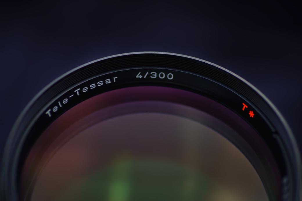 tele-tessar f4/300mm