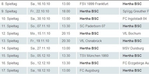 Sonstiges 2010 Hertha Bsc Fanclub Die Hauptstadt Crew