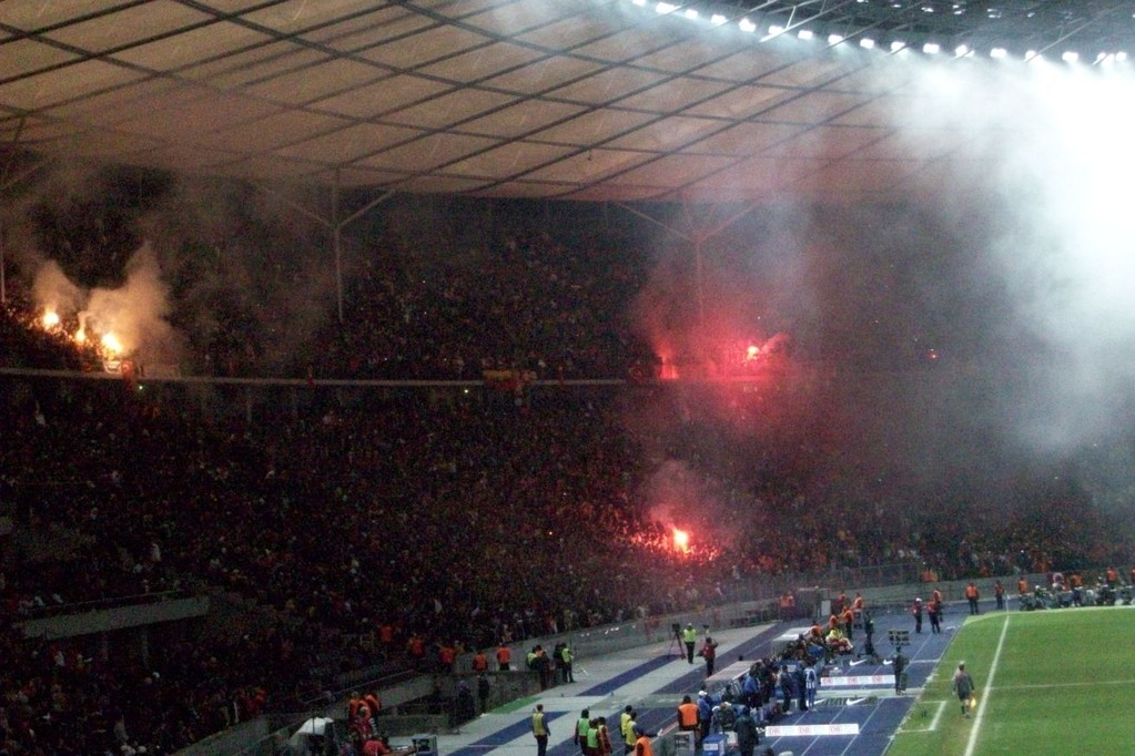 HERTHA - Galatasaray Dez. 08