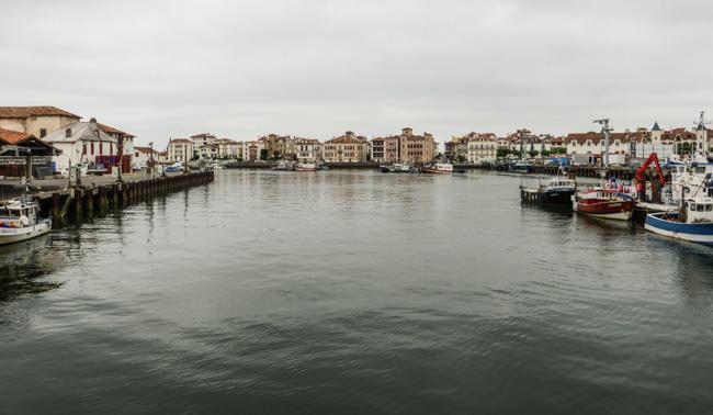 Hafen von St.Jean de Luz