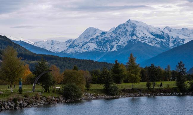 Königsspitze und Ortler