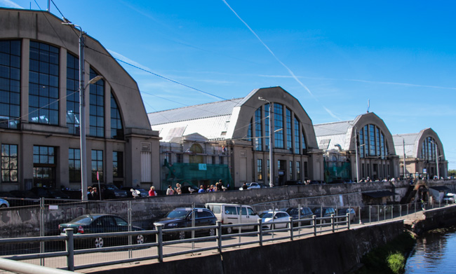Riga, Markthallen