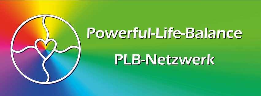 Logo und Banner von Powerful-Life-Balance. Jegliche Verwendung außerhalb vom PLB-Netzwerk darf nur in Absprache mit Frau Patricia Kreis erfolgen.