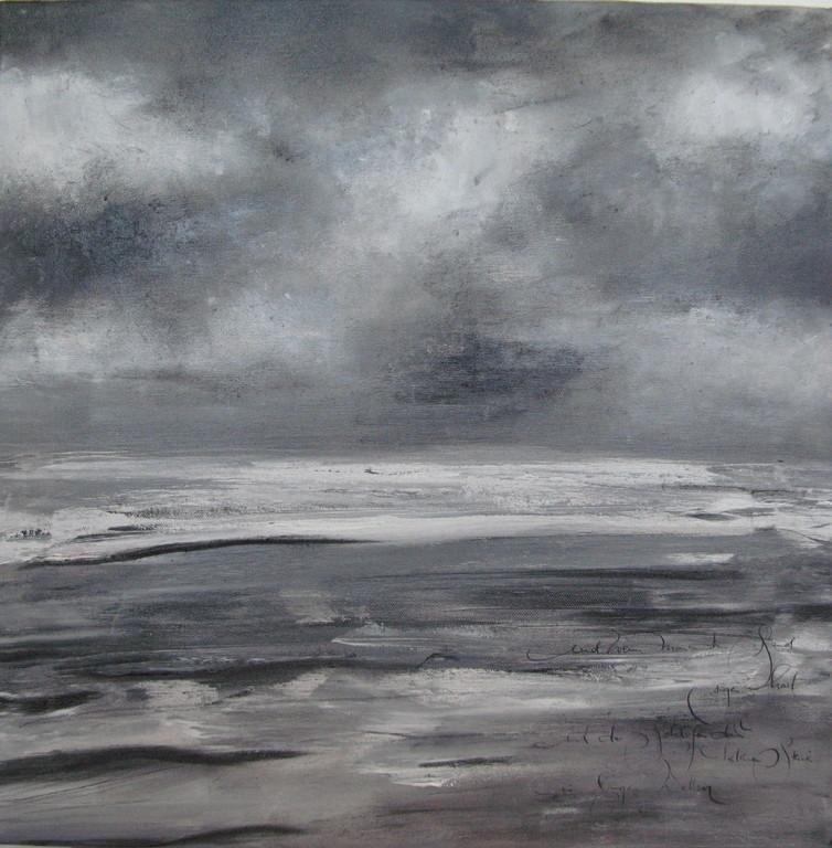 Wenn man ans Meer kommt (5) 5 x 50 cm x 50 cm Öl auf Leinwand 2007