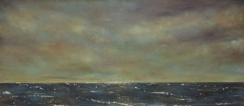 Goldenes Meer 70 cm x 169 cm Öl auf Leinwand 2009