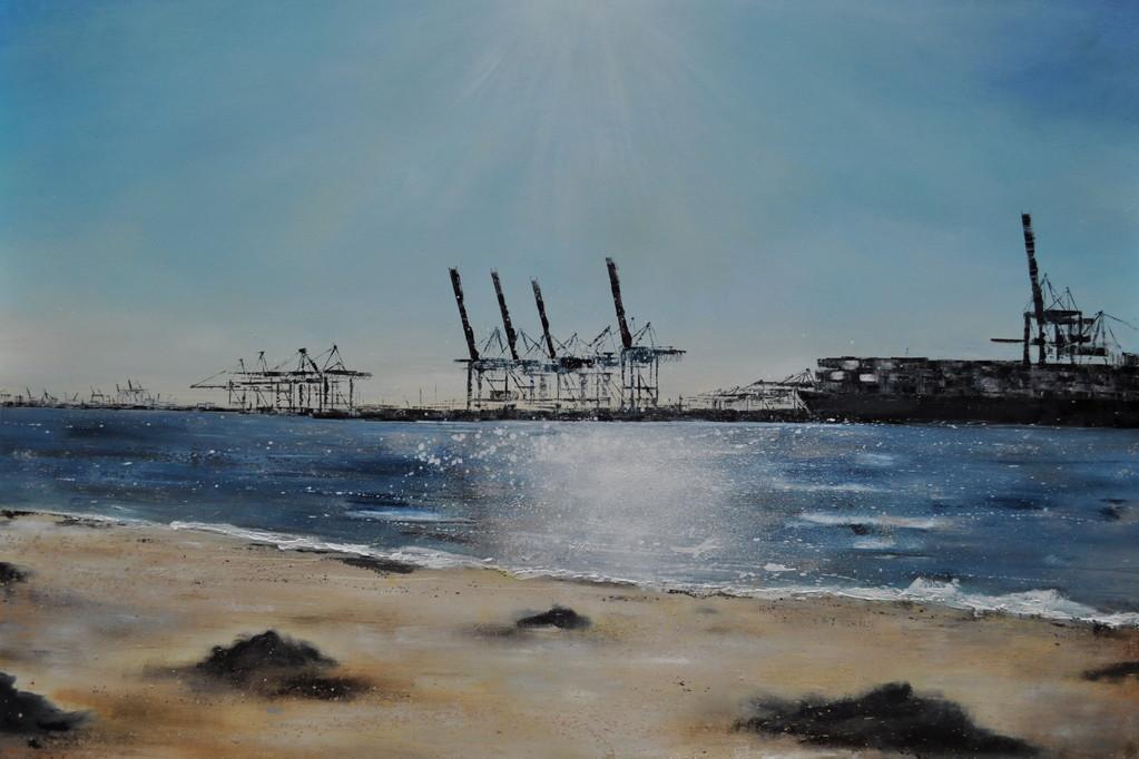 Ahoi, 180 cm x 115 cm, Öl auf Leinwand, 2011