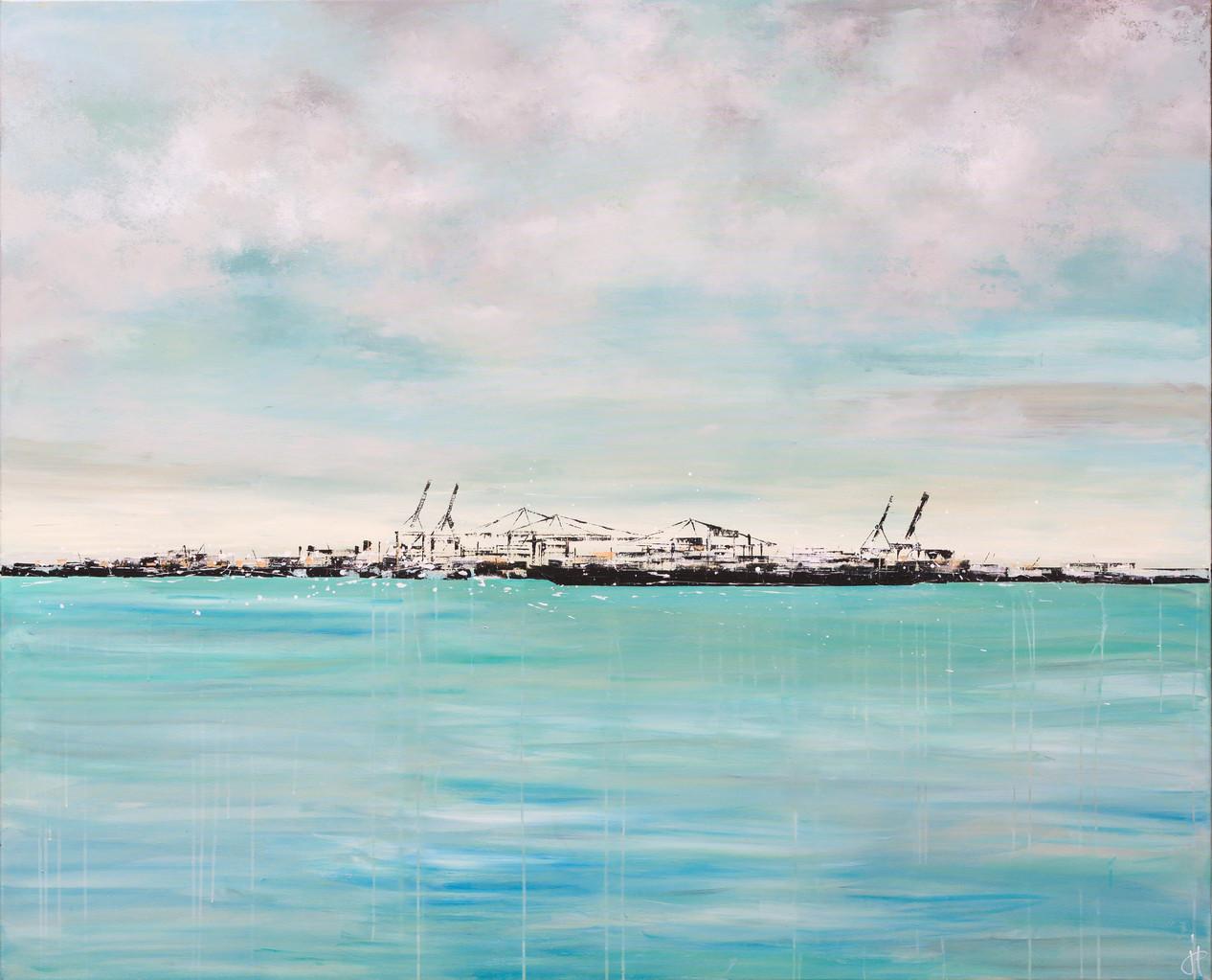 Heimat, 160 cm x 195 cm, Acryl auf Leinwand, 2013