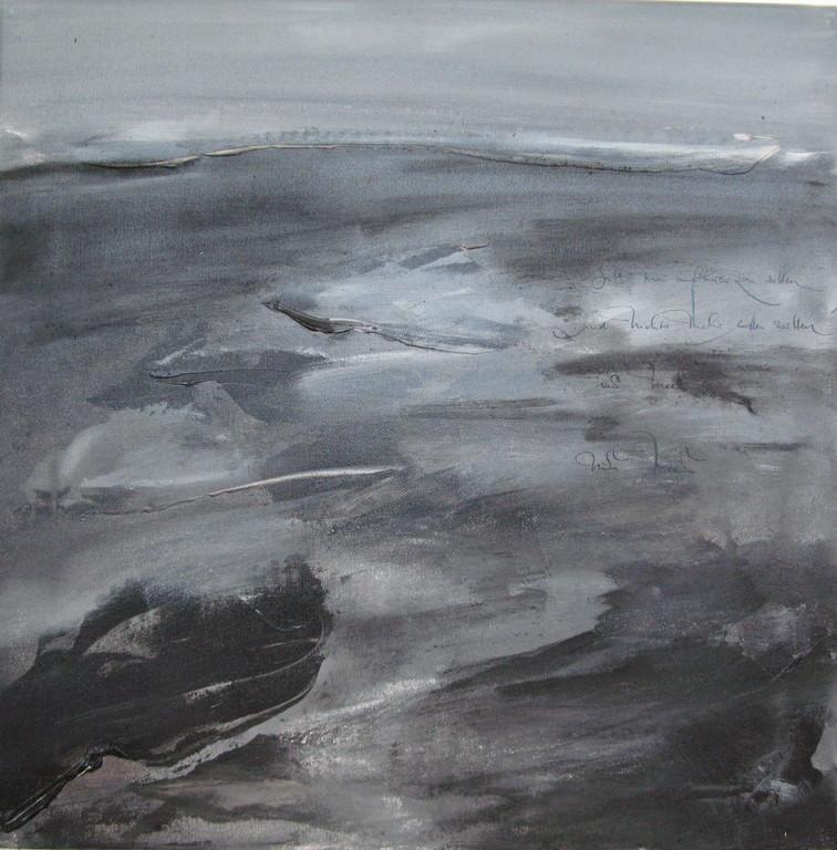 Wenn man ans Meer kommt (4) 5 x 50 cm x 50 cm Öl auf Leinwand 2007