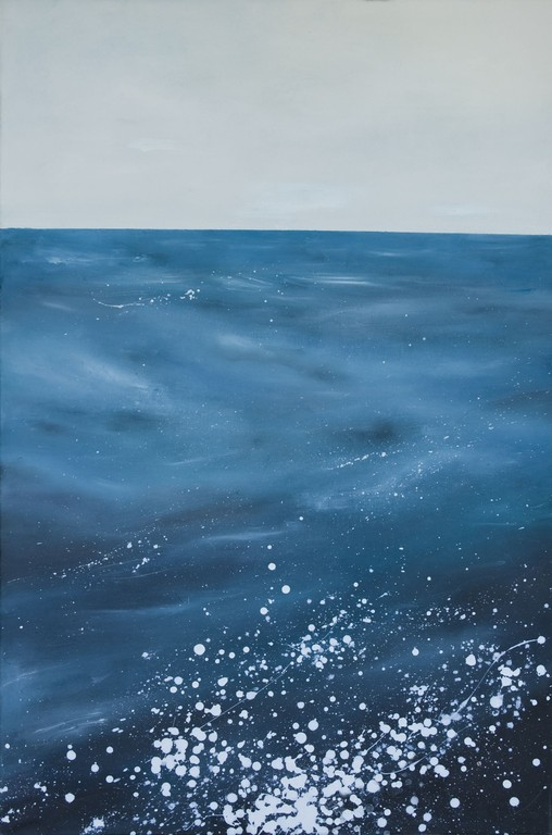 Im Meer 120 cm x 80 cm Öl auf Leinwand 2009