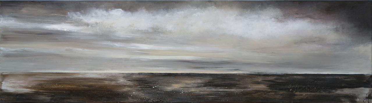 Still, 200 cm x 40 cm, Acryl auf Leinwand, 2013