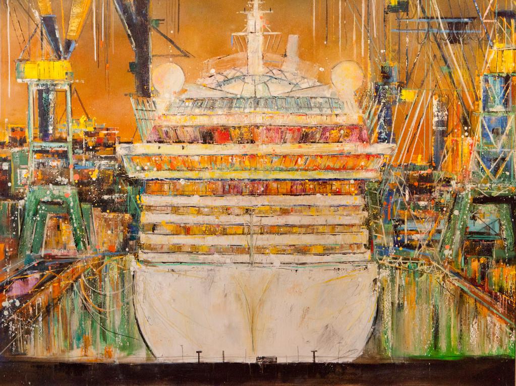 Aida, 140 x 120 cm, Öl auf Leinwand, 2010