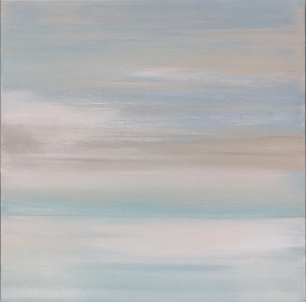Nah und fern IV, 50 cm x 50 cm, Acryl auf Leinwand, 2013