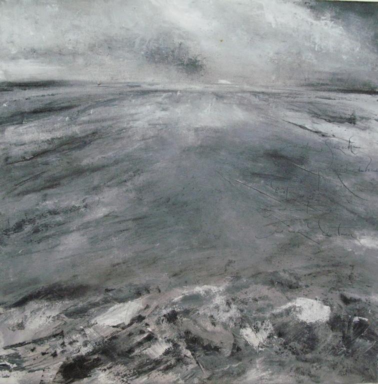 Wenn man ans Meer kommt (3) 5 x 50 cm x 50 cm Öl auf Leinwand 2007