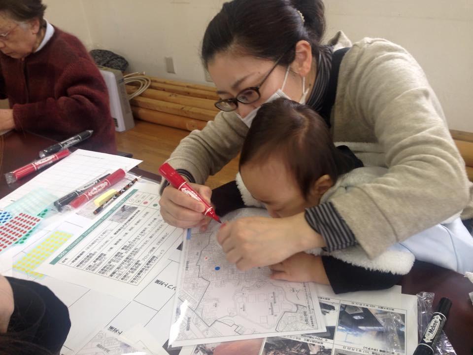蒔田第二町内会家庭防災自主活動 町内の減災を考える