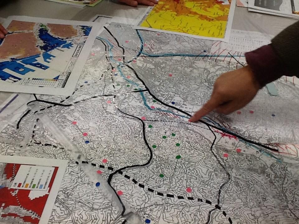 古地図を読んで減災を学ぶ