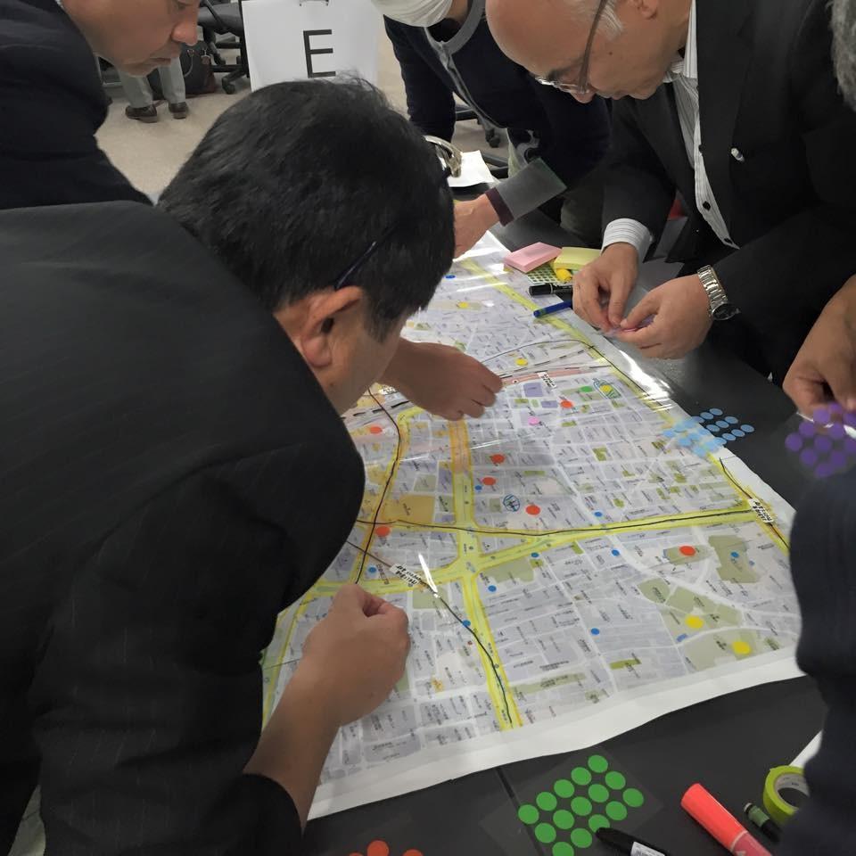 新宿駅周辺防災対策協議会 新宿駅DIG