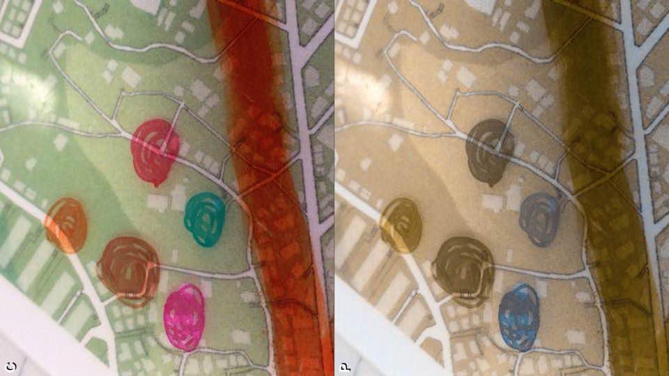 色覚障がいに配慮したmy減災マップワークショップデザイン(クリエイティブインクルージョン)