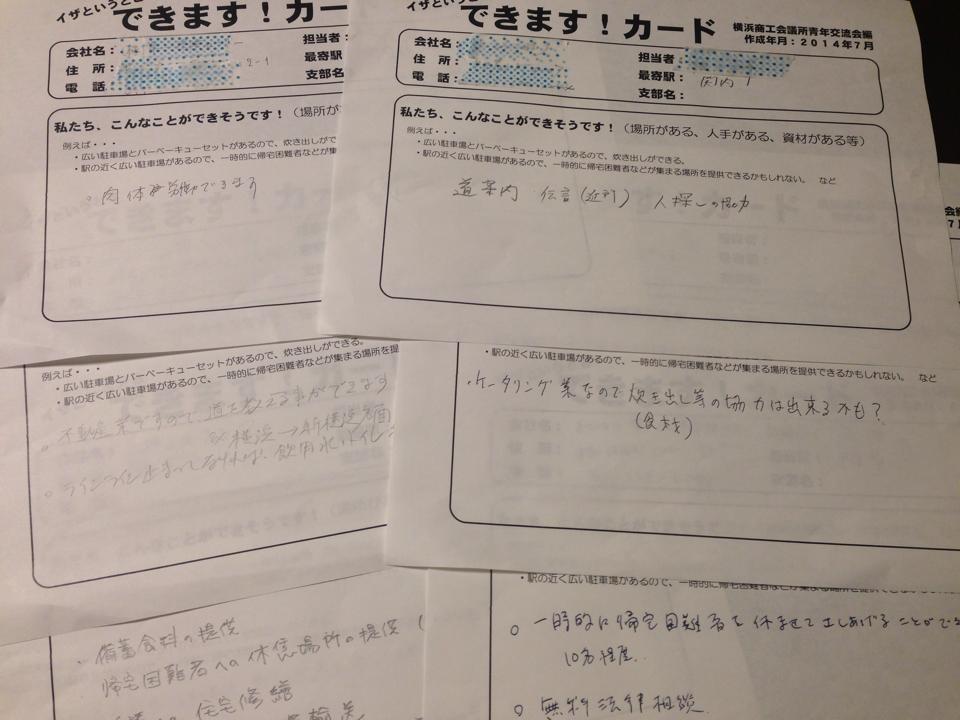 横浜商工会議所青年交流会講演会 あなたの社員・家族を守れますか?