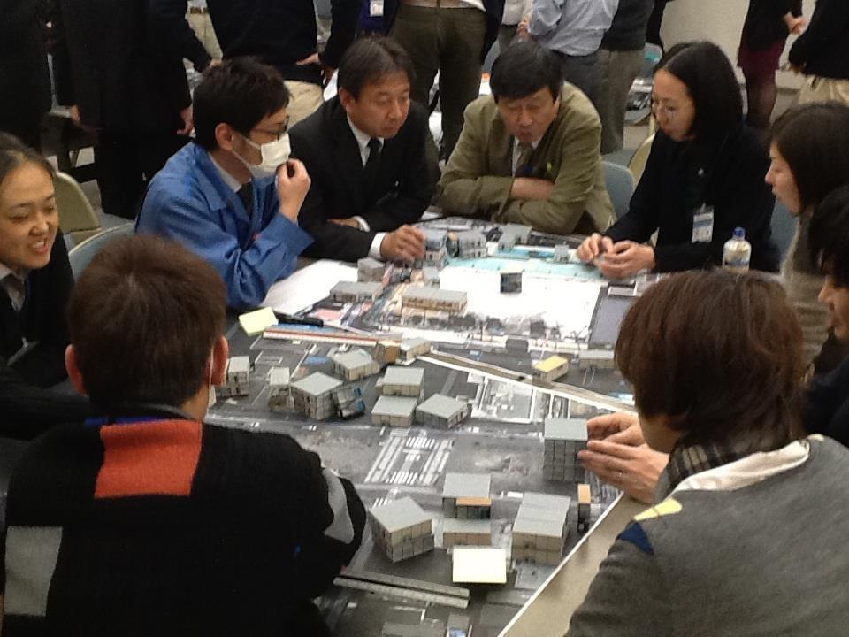 横浜市職員技術研修「復興まちづくり」ワーキング