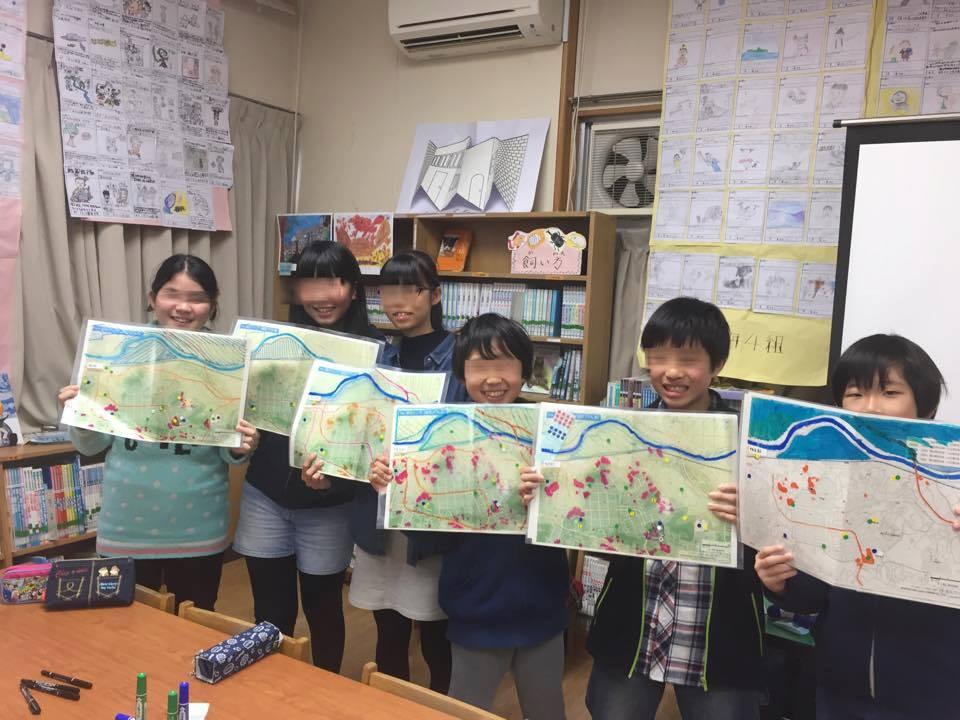東本郷小学校6年生my減災マップづくり(その3)