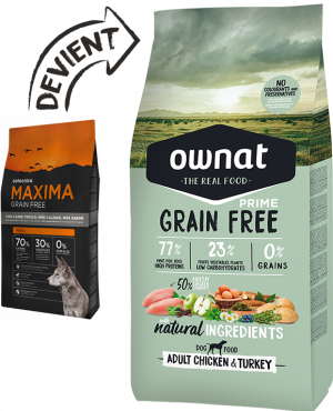ownat prime et just grain free junior/adult small/adult/senior/hypoallergenic