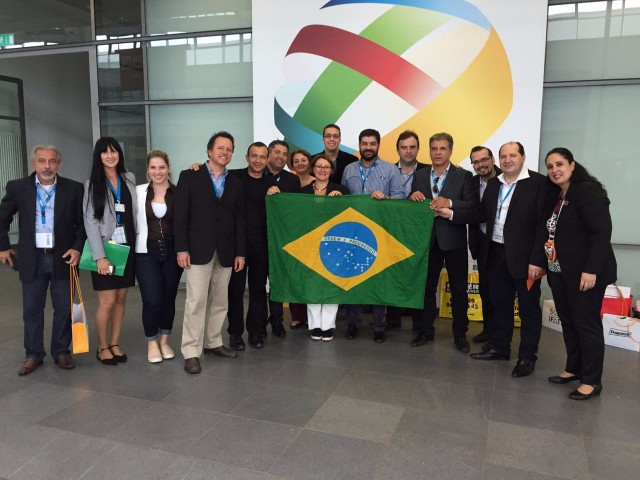 Brazilian delegation visiting IFAT2016!