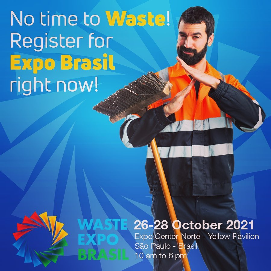 WASTE EXPO BRAZIL |  Brazil's leading trade fair for Solid Waste Management