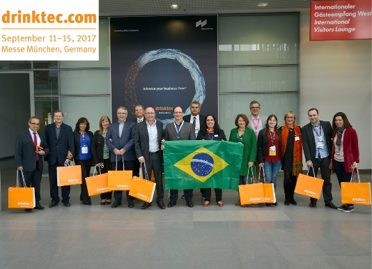 Brazilian delegation visiting DRINKTEC in Munich!