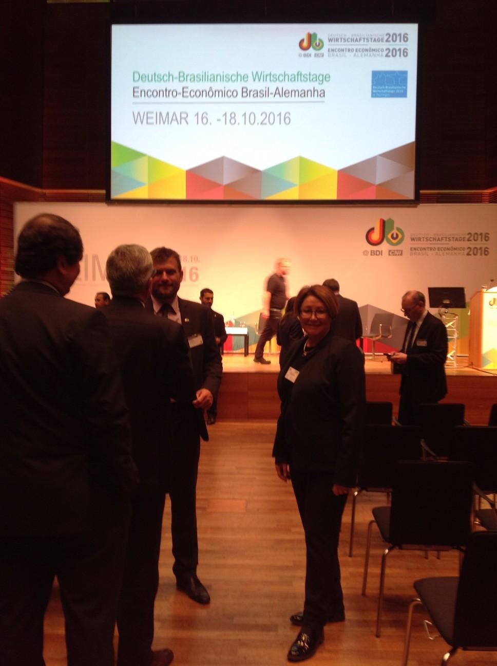 Deutsch-Brasilianische Wirtschaftstage 2016 in Weimar, Germany,