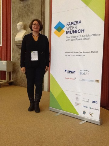 Participating of FAPESPWEEK 2014 in Munich (Deutsches Museum)!