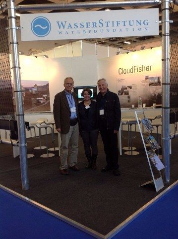 Talking to German Water Foundation at WASSER BERLIN 2015!