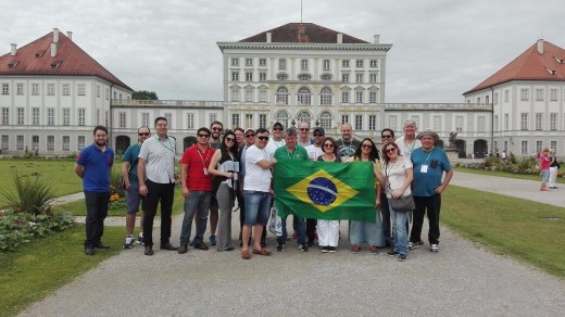 Accompanying the Brazilian Delegation in a Munich tour organized by BFZ!