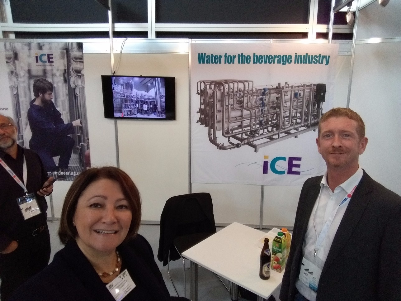 Visiting DRINKTEC, the World´s Leading Trade Fair for the Beverage and Liquid Food Industry in Munich!