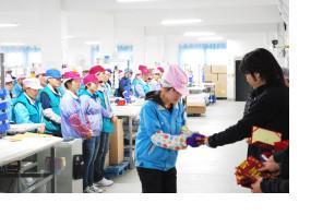 ▶ 熟練工を育成、維持するための「工員技術研修」