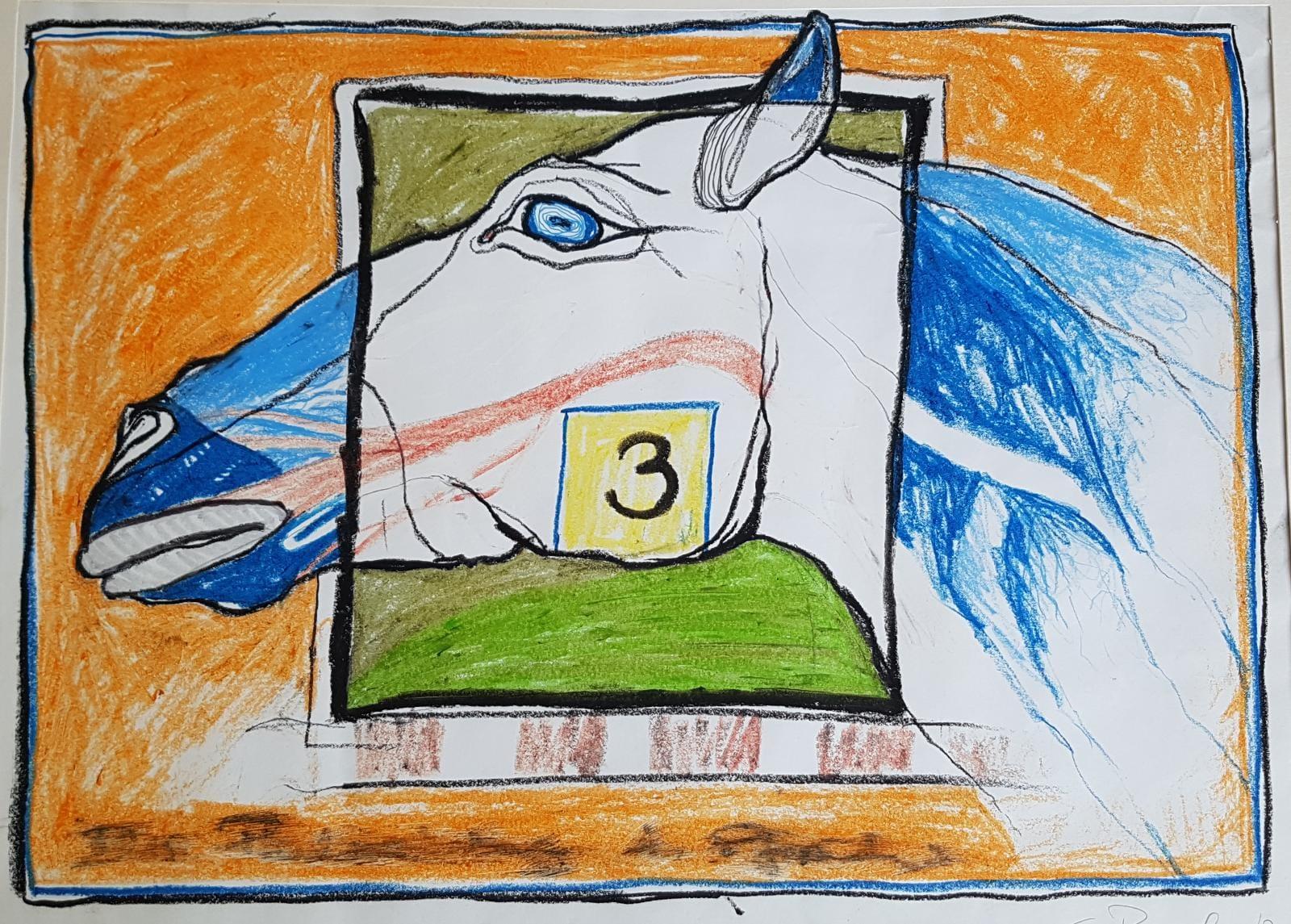 Wvz 1972 | P | 041 | Pulsschlag eines Pferdes