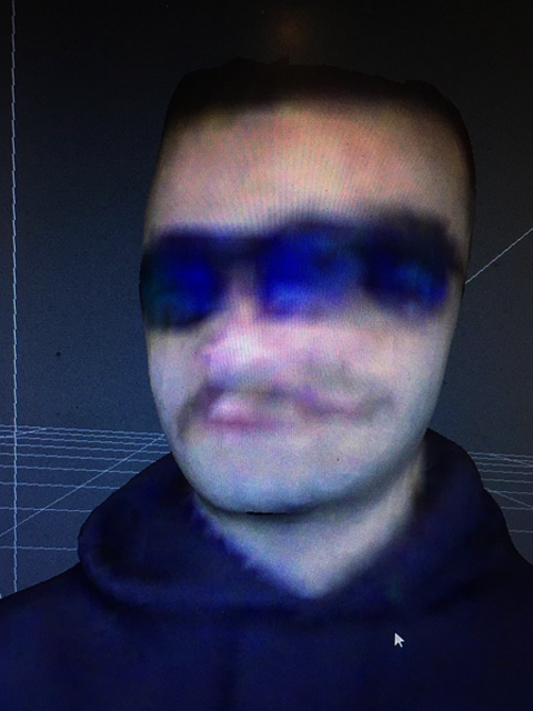 Sargon Khinoev: ID face. Fachbereich Kunst. (c) S. Khinoev (2020)
